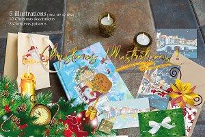 Christmas illustrations!