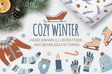 COZY WINTER patterns & illustrations