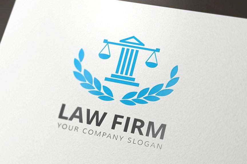 Law Firm Logo ~ Templates ~ Creative Market
