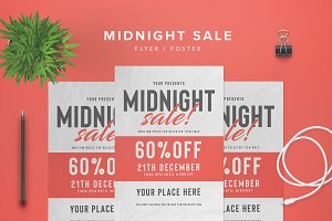 Midnight Sale Flyer