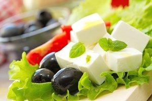 Ingredient for greek salad