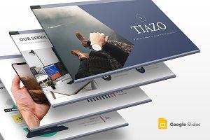 Tiazo - Google Slides Template