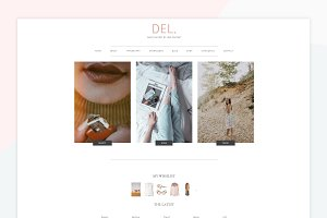 DEL - A Wordpress Genesis Theme
