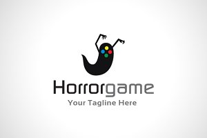 Horror Game Logo