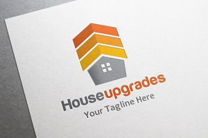 House Upgrades Logo - service