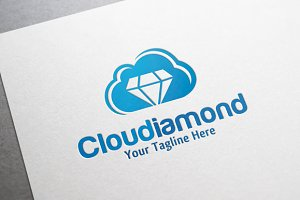 Cloud Diamond Logo