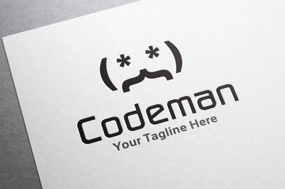 Code Man - Logos