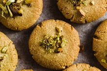 homemade cookies, almond and sesame  by  in Food & Drink
