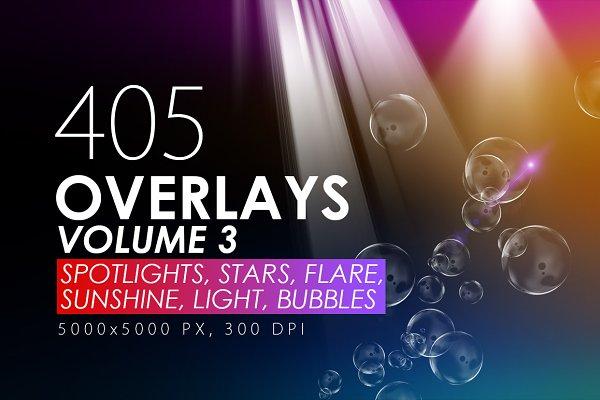 405 Light Rays, Leak, Flare Overlay…