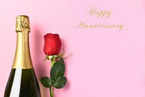 Happy Anniversary Champagne