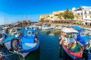 Fishing Boats moored in Kyrenia
