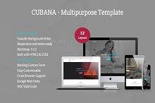 Cubana - Multipurpose Template