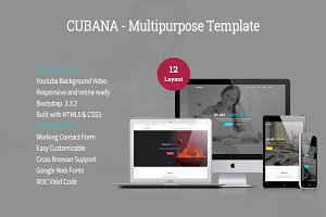 Cubana - Multipurpose Template