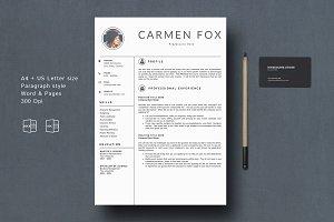 Resume/ CV Template