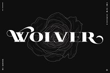 WOLVER by  in Serif Fonts