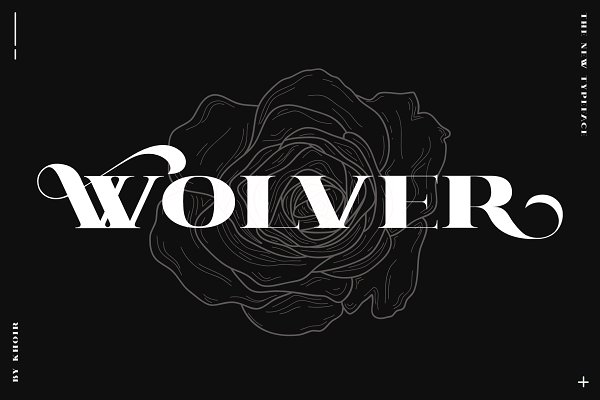 Serif Fonts - WOLVER