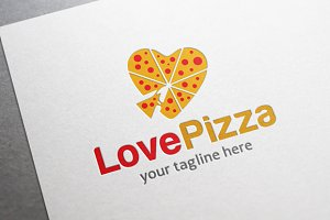 Love Pizza Logo
