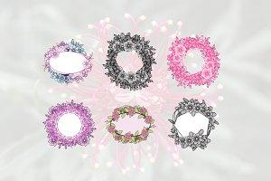 6 Beautiful Florist Wedding Frame
