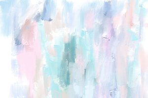 Pastel oil painting background