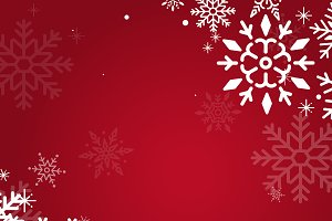 Red christmas holiday vector