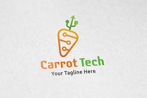 Carrot Tech - Logo Template