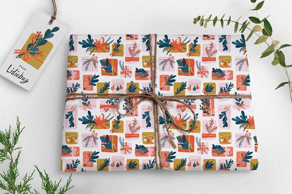 Graphic Patterns: Lidiebug - Gift Box