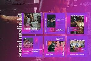 Your Gym - Social Media Kit