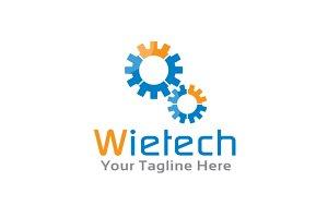 Letter W Logo - Gear Logo