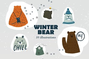 WINTER BEAR COLLECTION