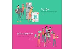 Big Offer Kitchen Appliances Set of