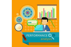 Performance Analysis Banner. Search