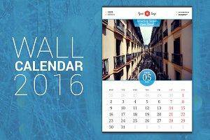 Wall Calendar 2016