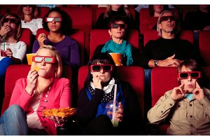 People At The Cinema