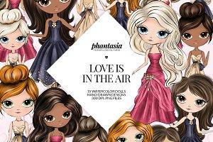 Valentines Dolls Cliparts