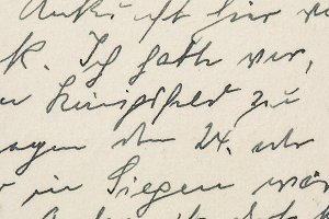 Handwritten text used paper texture