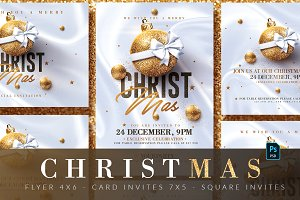 Christmas Invitations & Flyer