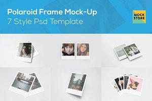 Polaroid Frame Mock-Up