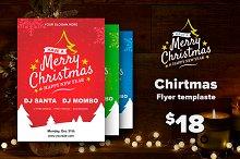 Chirtmas Flyer templaste $18
