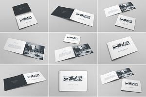 Brochure Catalog Mockup Bundle