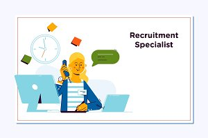 Recruitment Concept for web page