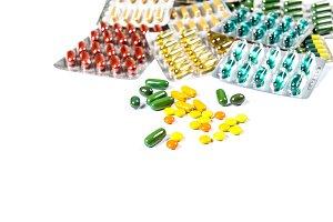 Pills capsules Detox Health
