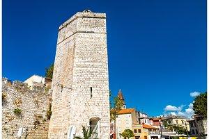 The Captain tower in Zadar, Croatia