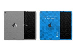 iPad Pro 11-inch Tablet Skin Mockup