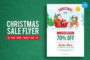 Merry Christmas Sale Flyer 1