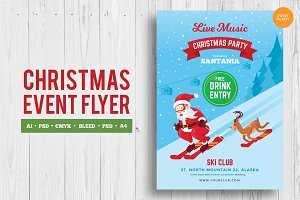 Merry Christmas Event Flyer 2