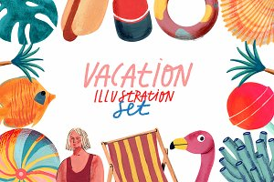 Vacation Gouache/Acrylic Set