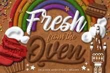 Fresh from the Oven Delicious Styles by  in Layer Styles