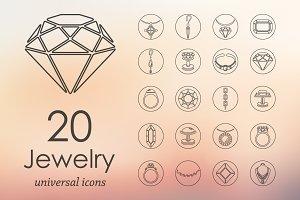 20 JEWELRY icons