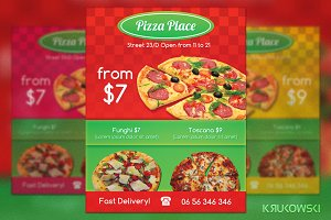 Pizza Place Flyer