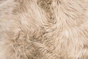 Sheep fur Natural color sheepskin